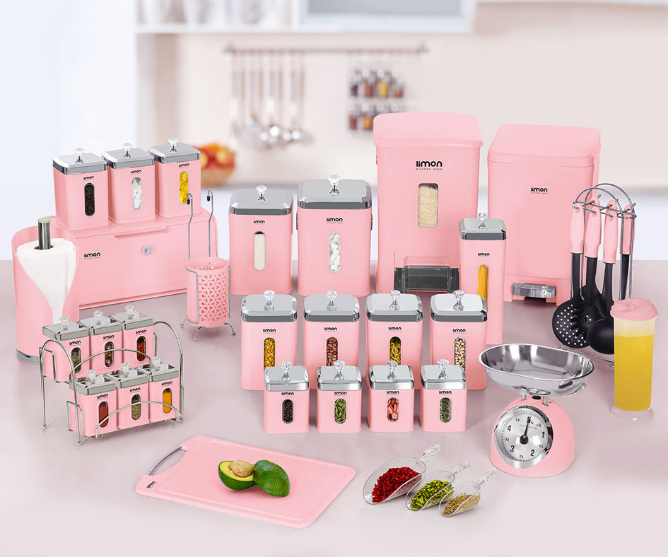 Rectangle Kitchen Pack 37 Pcs color