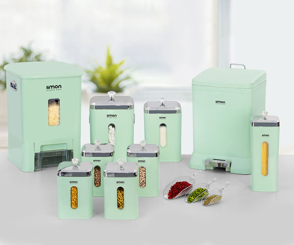 Rectangle Kitchen Pack 9 Pcs color