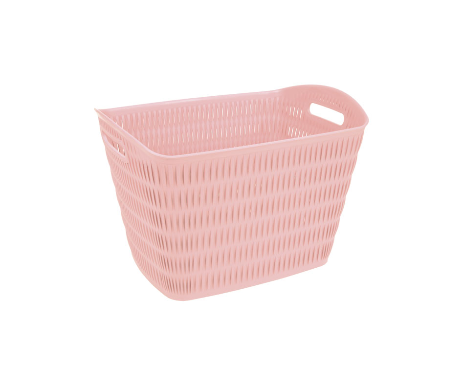 rectangle bamboo laundry basket