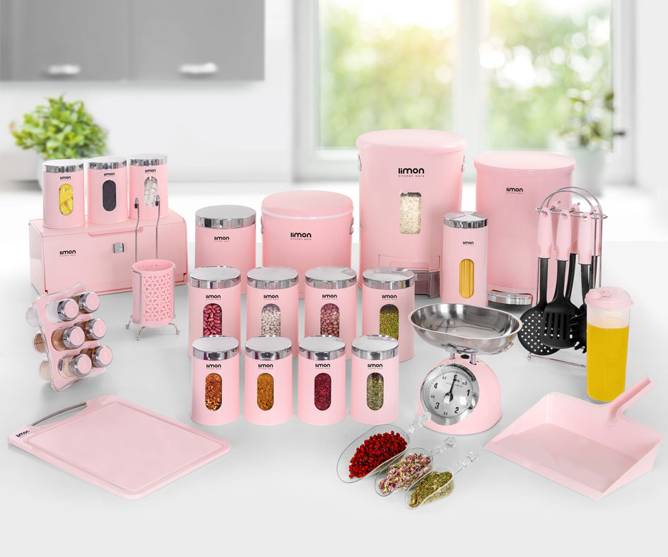 Limon 37-Pcs Kitchenware Set
