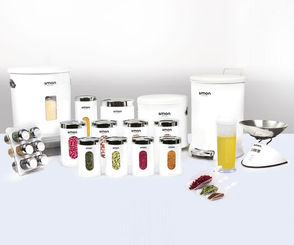 Limon 22-Pcs Kitchenware Set