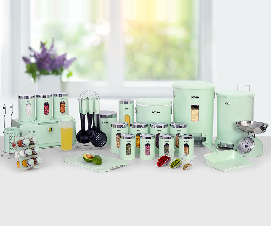 سرویس آشپزخانه لیمون 37 پارچه