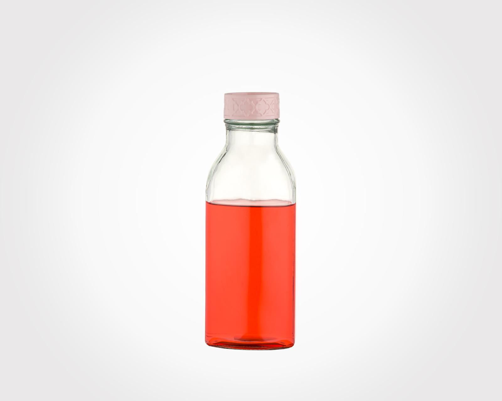 بطری آب چهارگوش